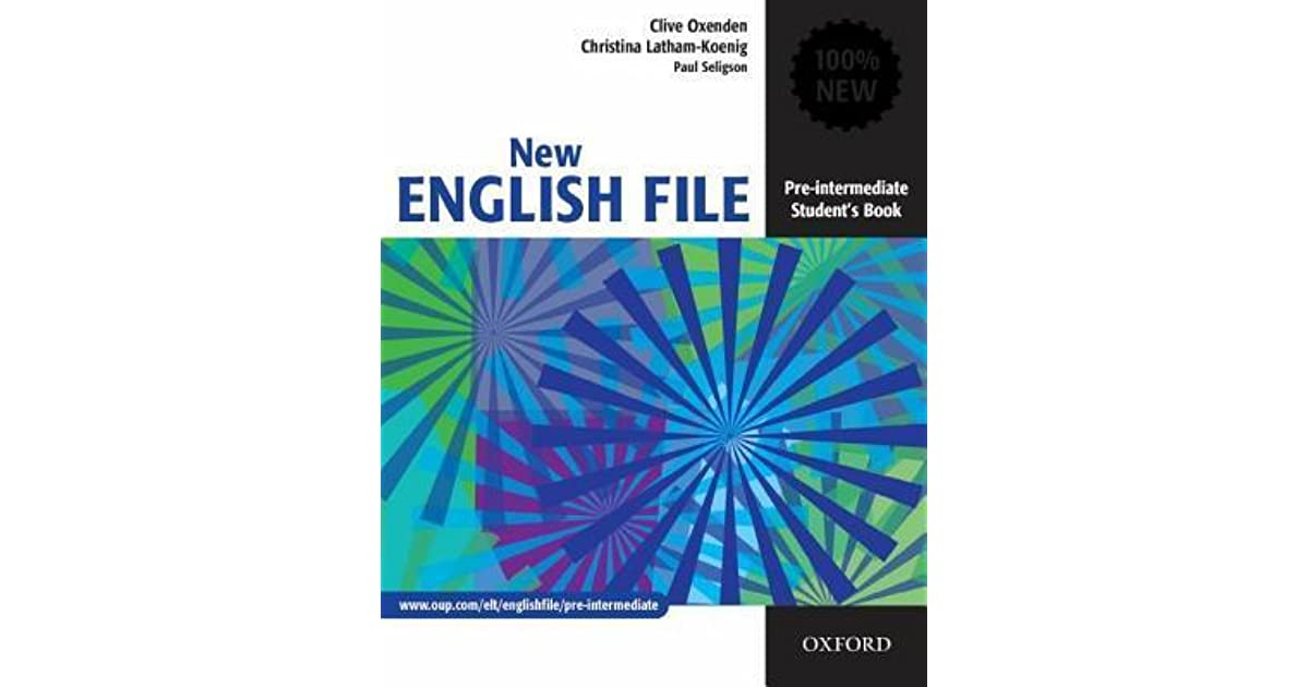 New English File Students Book Pdf
