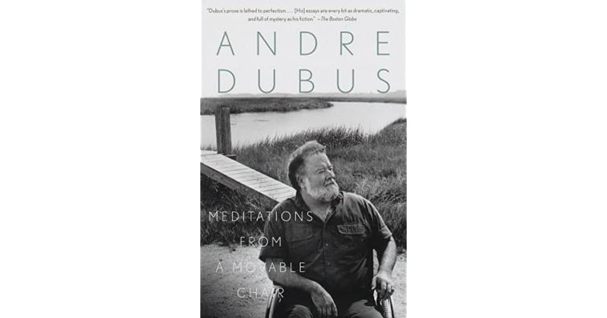 meditations from a movable chair dubus andre