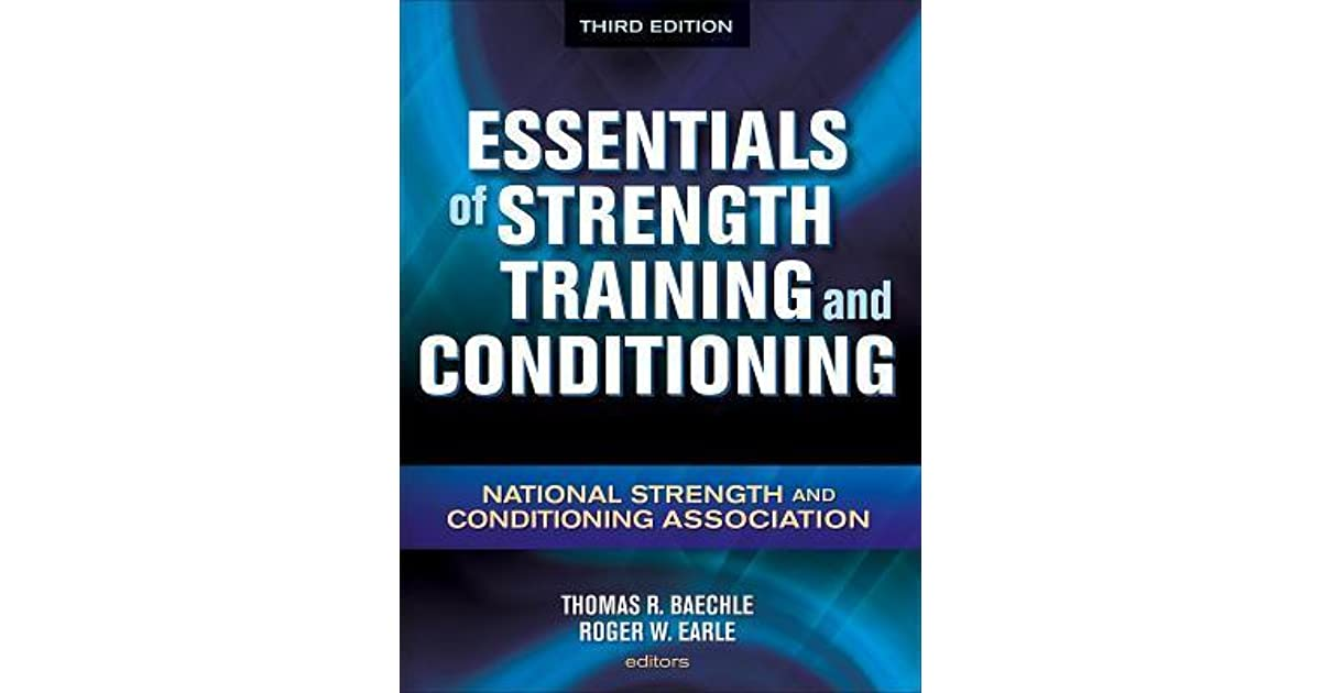essentials of strength training and conditioning 4th edition amazon