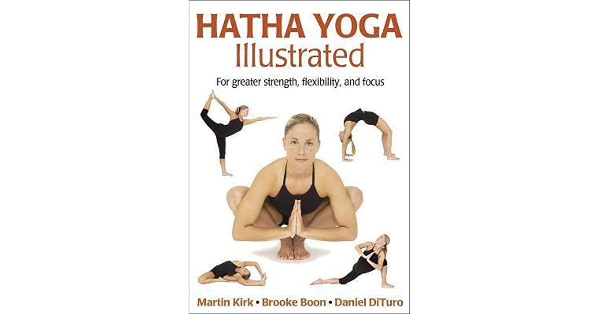 Illustrated Book Cover Yoga : Hatha yoga illustrated for greater strength flexibility