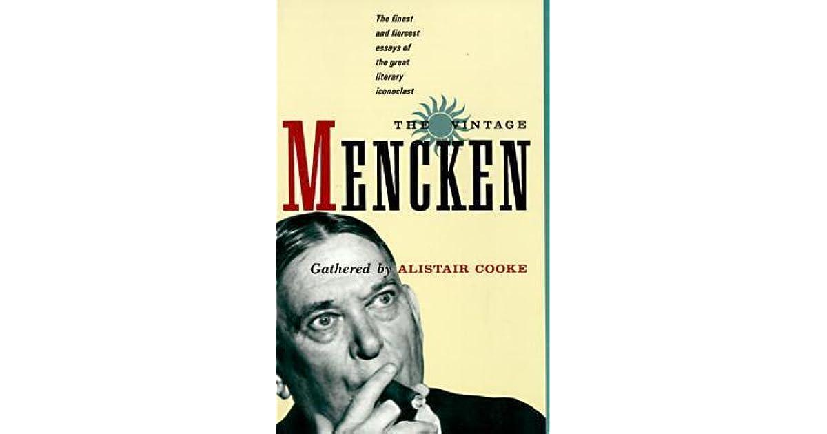Herb Hastings's review of The Vintage Mencken