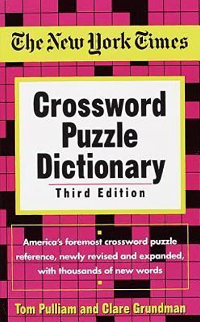 sc 1 st  Goodreads & The New York Times Crossword Puzzle Dictionary by Tom Pulliam 25forcollege.com