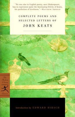 "Book cover of ""Complete Poems and Letters"" by John Keats"