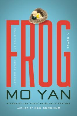"Book cover of ""Frog"" by Mo Yan"