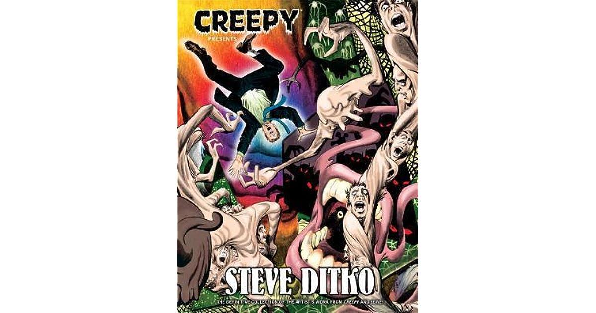 STEVE DITKO HARDCOVER Dark Horse Eerie Horror Comics HC CREEPY PRESENTS