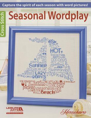 Seasonal Wordplay Cross Stitch