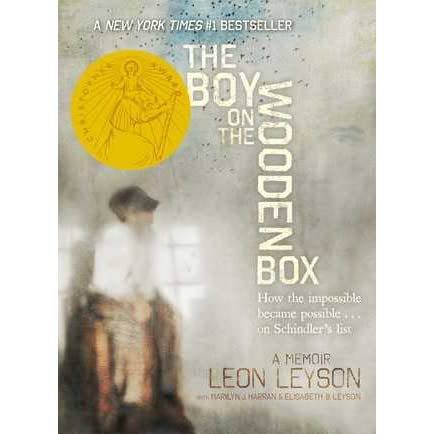 loen the boy Leon leyson's the boy on the wooden box (2013) is a memoir about the author's survival of the holocaust as a boy, leon was so small he had to stand on a wooden box to continue to work at oskar schindler's glass factory in poland—thus the title.