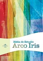 RVR 1960 Biblia de Estudio Arco Iris, multicolor