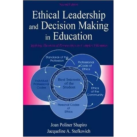 leadership and ethical decision making Improving ethics quality in health care ethical leadership fostering an ethical environment & culture ethical leadership within the context of the broader integratedethics program to practice ethical decision making, and to support their facility's ethics program.