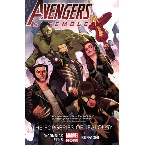 Avengers Assemble: The Forgeries of Jealousy by Kelly Sue