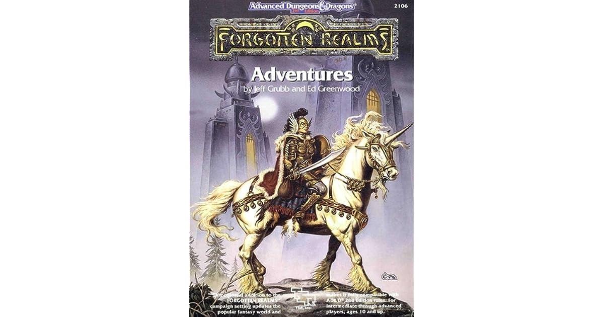 Forgotten Realms: Adventures by Jeff Grubb