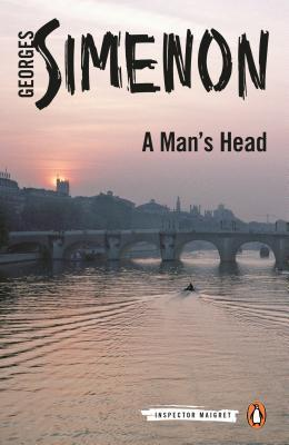 Image result for A Man' Head + Georges Simenon""