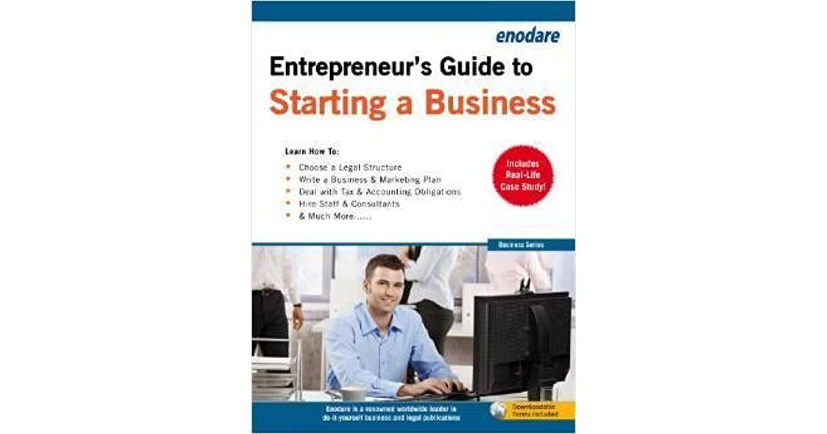 guide to starting a business book
