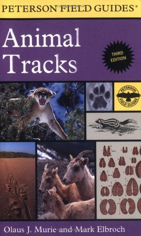 Peterson Field Guide to Animal Tracks (Peterson Field Guides)