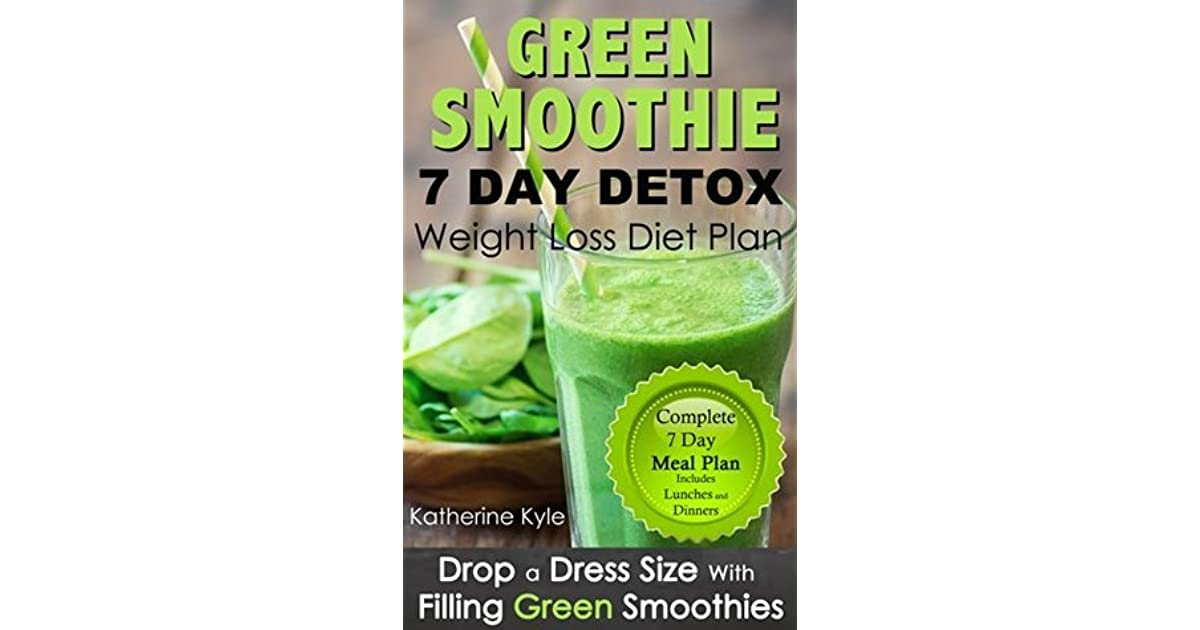 7 Day green smoothie weight loss diet plan: Drop a dress size with