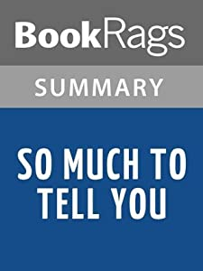 So Much to Tell You by John Marsden l Summary & Study Guide