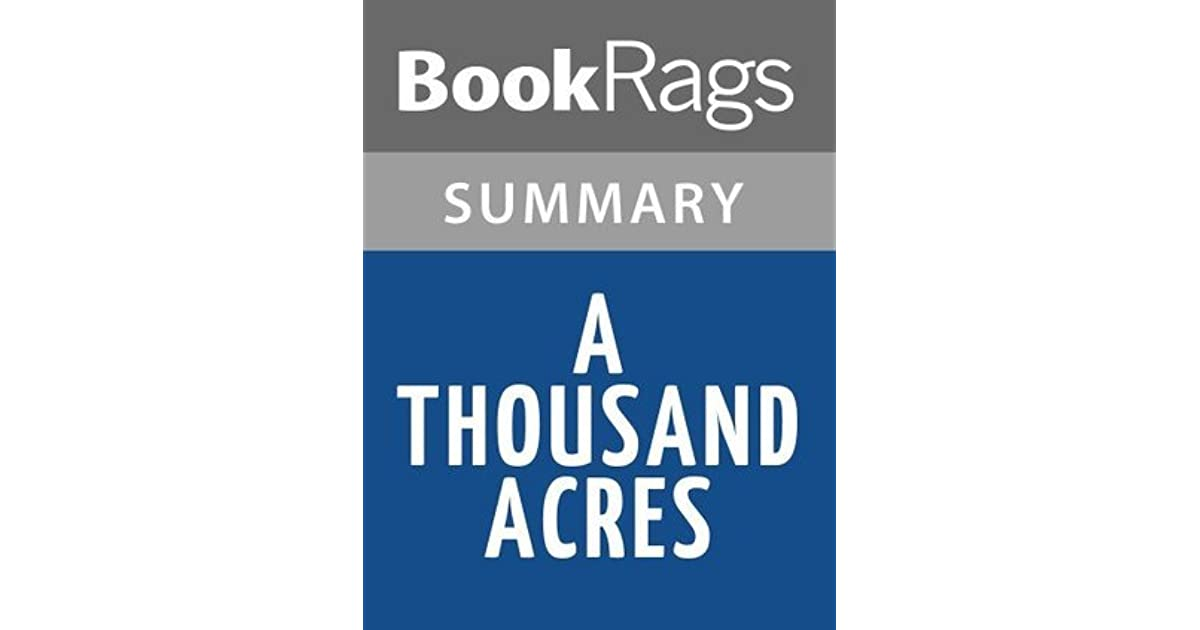 A thousand acres study guide