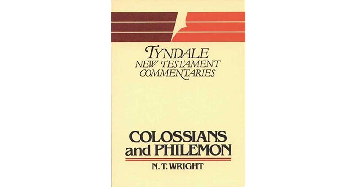 Colossians and philemon by nt wright fandeluxe Images