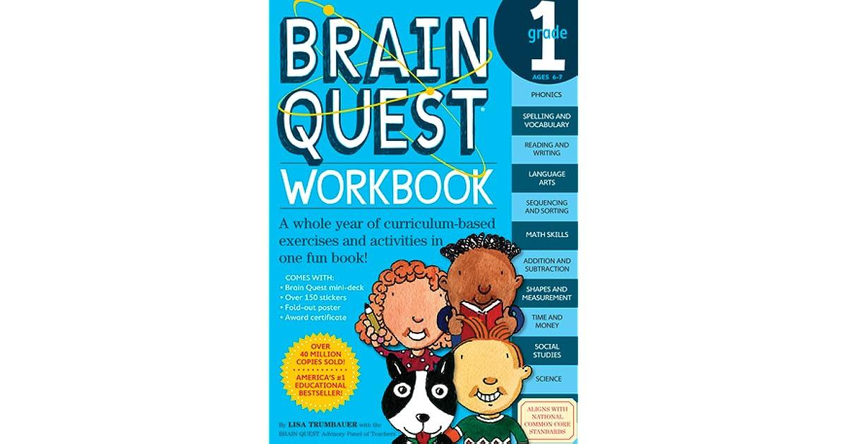 Brain Quest Workbook 1st Grade By Lisa Trumbauer