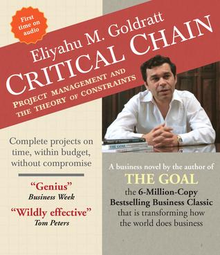 Critical Chain by Eliyahu M. Goldratt
