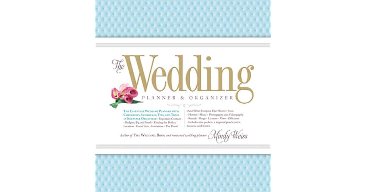 wedding planner organizer the wedding planner organizer by weiss 30042