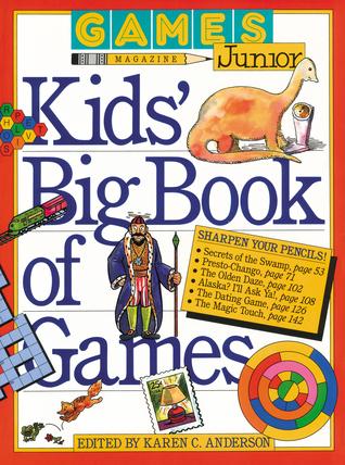 Games magazine junior kids' big biok