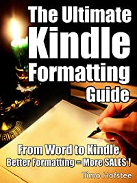 The Ultimate Kindle Formatting Guide