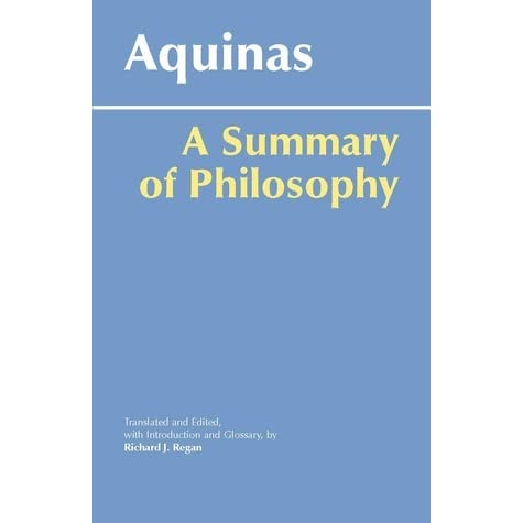 the aristotelian principles in the summa theologiae by thomas aquinas Beauty is a kind of knowledge by thomas aquinas thomas aquinas in his summa theologica, [1] thomas aquinas assumes an essentially aristotelian.