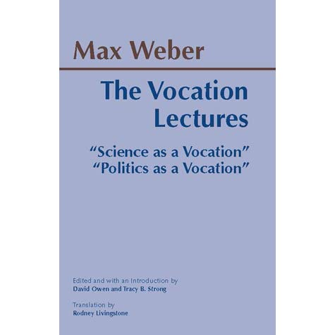 a report of science as a vocation by max weber Science as a vocation: max weber, science, and the believer by steve fleming july 27, 2008 by steve fleming i spent a chunk of my time in this year's bushman.
