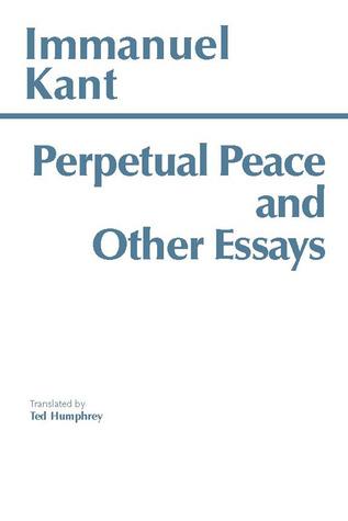 kant perpetual peace summary