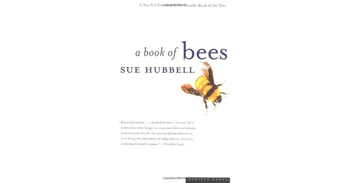 A book of bees and how to keep them by sue hubbell fandeluxe Ebook collections