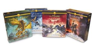 The Heroes of Olympus Books 1-4 CD Audiobook Bundle (The Heroes of Olympus, #1-4)