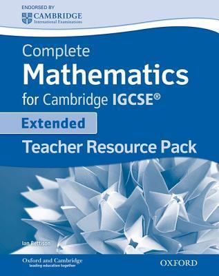 Complete Mathematics for Cambridge IGCSE {Extended}--Teacher