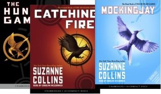 Hunger Games Audiobook Trilogy Book 1 to 3 Complete Series Set
