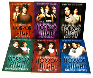 Horror High Collection (Toxic Beauty, Killer Instinct, Grave Intentions, Fatal Kiss, Date With Death, Deadly Rumours)