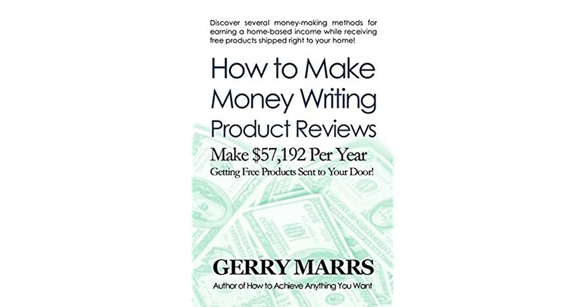 can i make money writing reviews