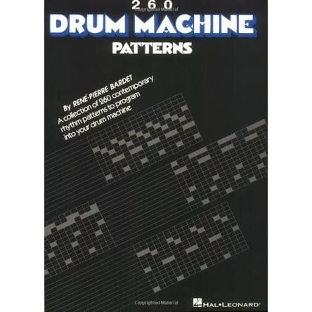 260 drum machine patterns by rene pierre bardet fandeluxe Image collections