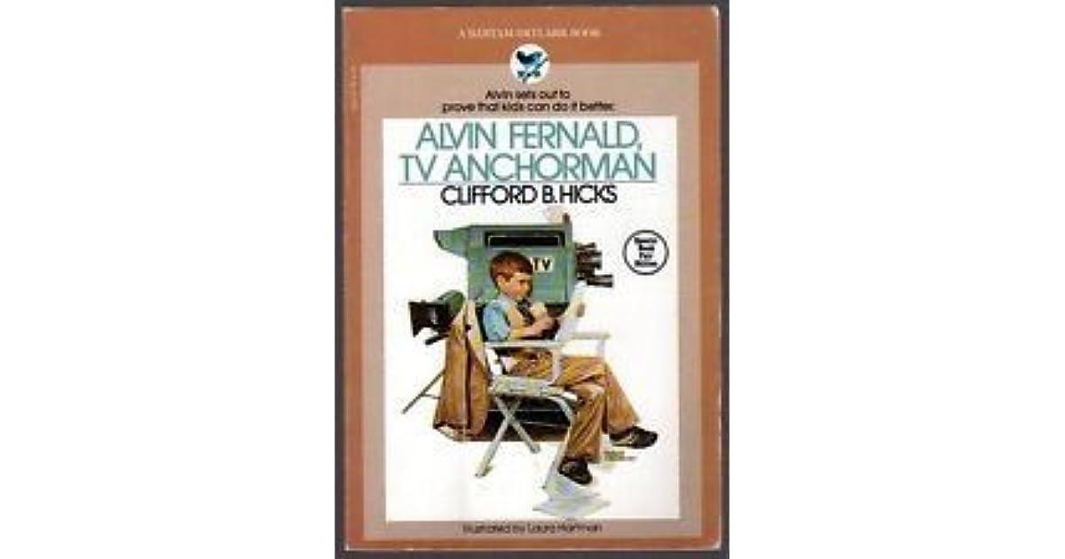 b8b0cd3dbba3 Alvin Fernald, TV Anchorman by Clifford B. Hicks