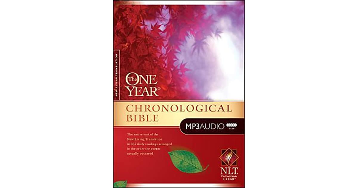 One Year Chronological Bible-NLT by Anonymous