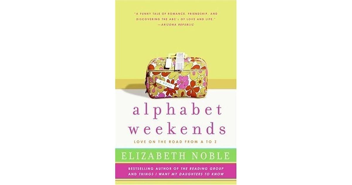 Alphabet Weekends by Elizabeth Noble