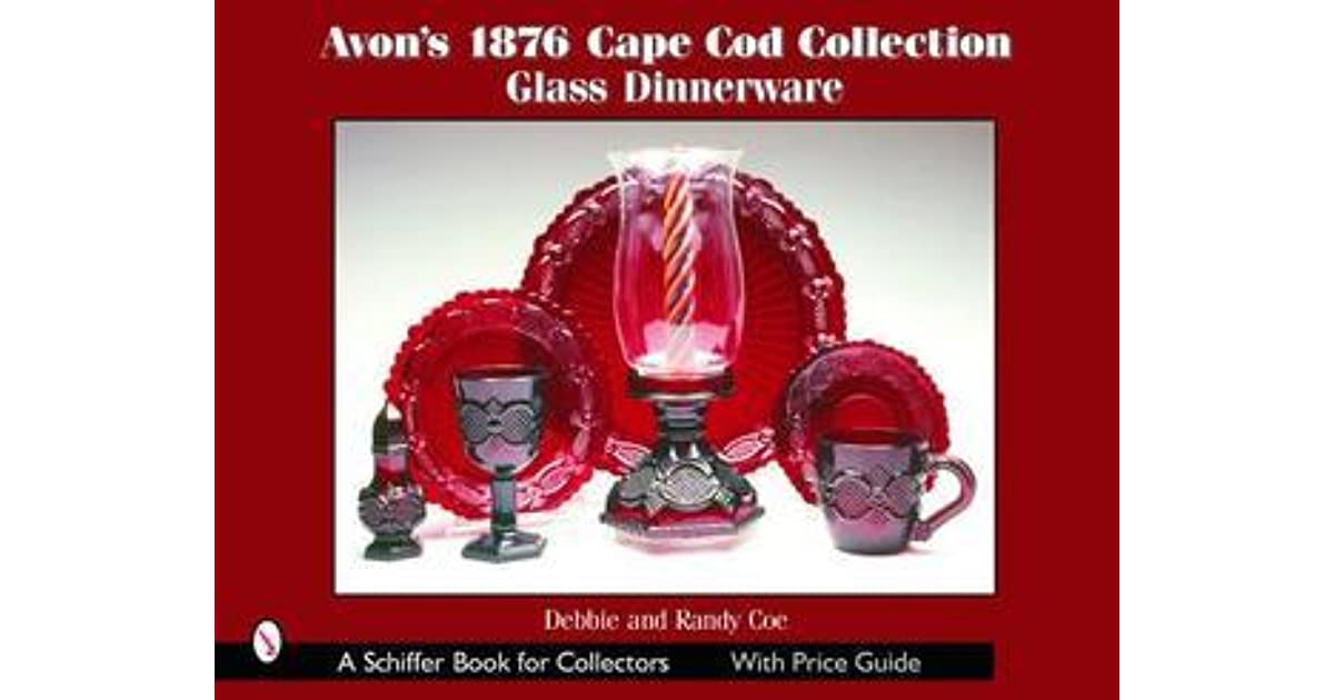 Avons 1876 Cape Cod Collection Glass Dinnerware By Debbie Coe