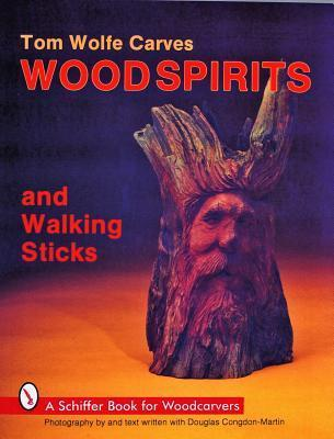 Tom Wolfe Carves Wood Spirits and
