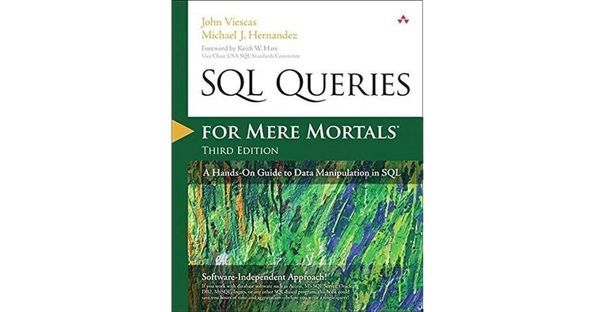 sql queries for mere mortals  a hands