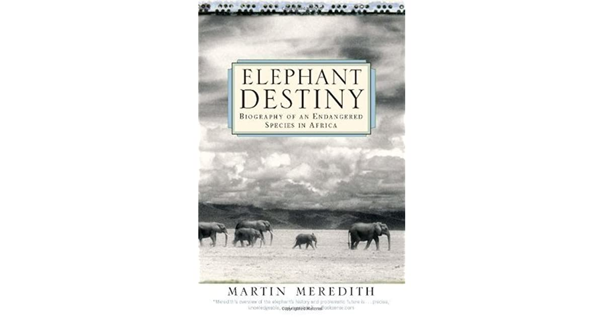 autobiography of an elephant