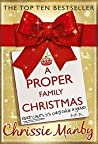 A Proper Family Christmas (Benson Family, #2)