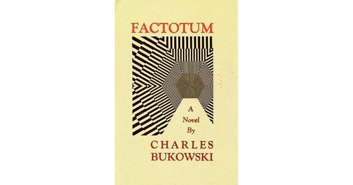 Charles Bukowski Factotum Pdf