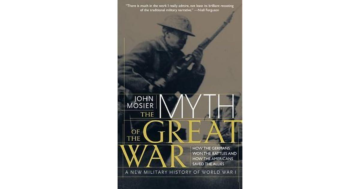 john mosier the myth of the great war pdf