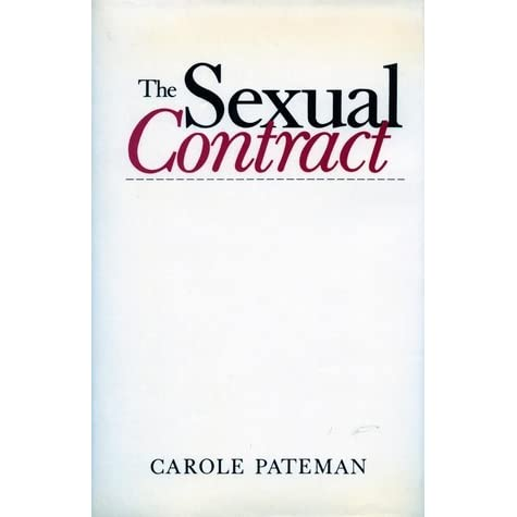 the controversies of prostitution in carole patemans essay what is wrong with prostitution