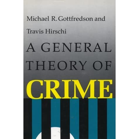the general theory of crime essay Ideas about theories of crime crime is socially defined - theories of crime essay introduction what is considered a crime at one place and time may be considered normal or even heroic behavior in another context the earliest explanations for deviant behavior attributed crime to supernatural forces.