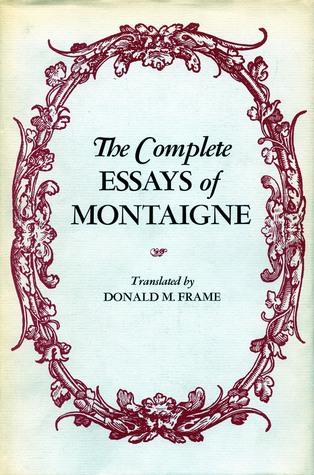 montaigne essays summary